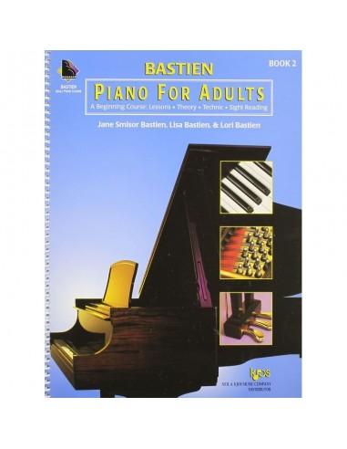 James bastien piano for adults 2 pianoforte per adulti lezioni te