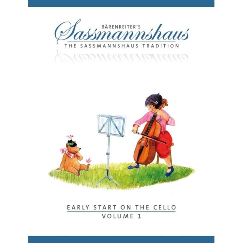 Sassmannshaus Early Start 1 Violoncello